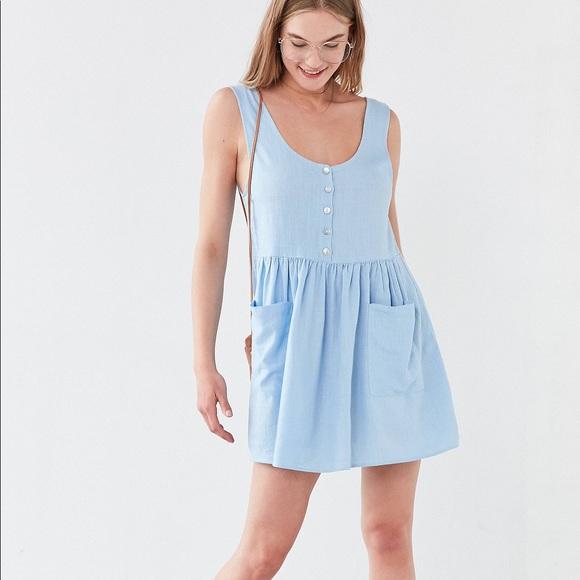 5a9ca1f5b8 Cooperative Oversized Linen Babydoll Dress. M 5aaed4bb2ab8c5d8143a6227